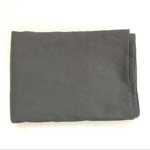Grey twin flat bedsheet